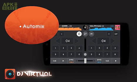 Dj mixer player with my music for Android free download at Apk Here