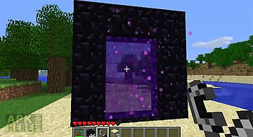 Nether portal mod - minecraft