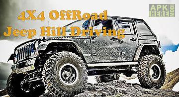 4x4 offroad jeep hill driving