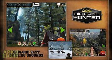 Cabelas big game hunter special