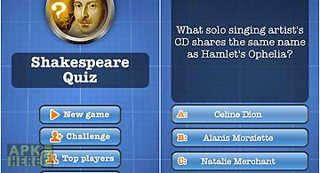 Shakespeare quiz free