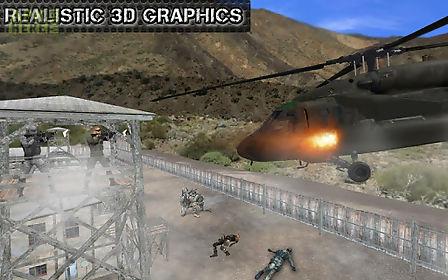 helicopter commando air strike