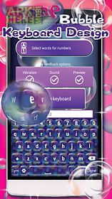 soap bubble keyboard design