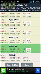 train radar - indian railway
