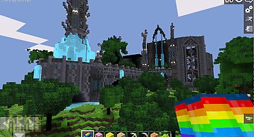Cartoon craft: castle world pe