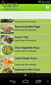 cook minutes recipe