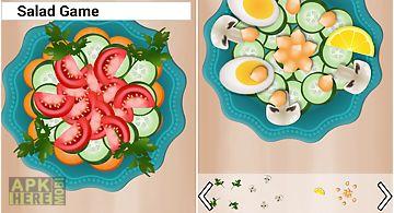 Cooking salad games