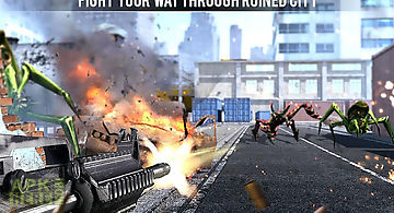 Dead invaders: fps war shooter