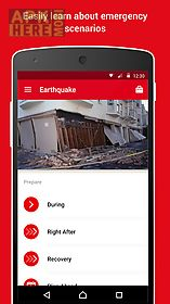 earthquake -american red cross