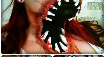 Evil snapchat makeup tutorial