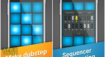 Dubstep drum pad machine