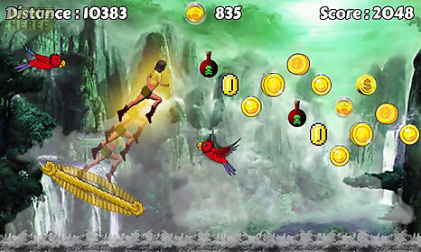 temple flying game