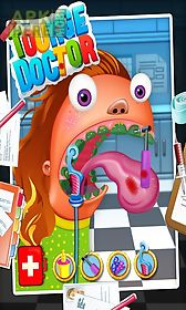 tongue doctor - kids game