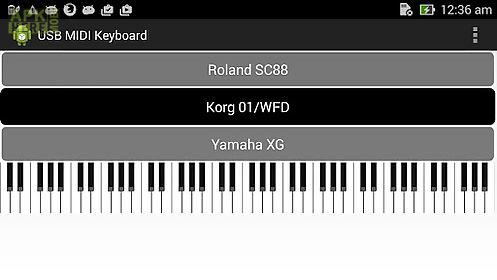 usb midi keyboard