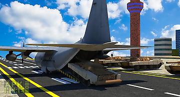 Army cargo plane – tanks
