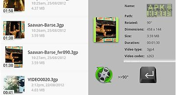 Rotate video fx for android free download at apk here store fast video rotate trial ccuart Image collections