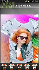 t-shirt photo frames