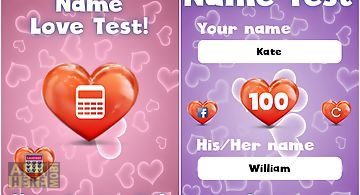 Name love test for fun