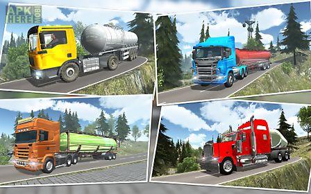 offroad oil tanker transporter