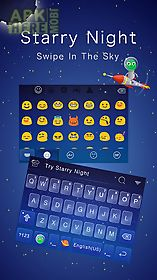 starry night theme keyboard