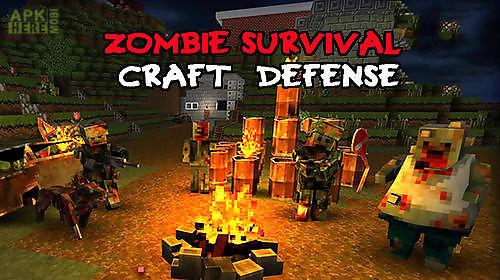 zombie survival craft: defense