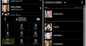 Asus contacts theme - dark