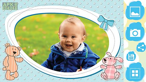Baby photo frames for Android free download at Apk Here store ...