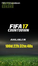 countdown for fifa 17