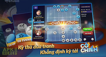 Cờ chiến - co tuong, co up