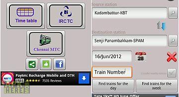 Chennai suburban trains