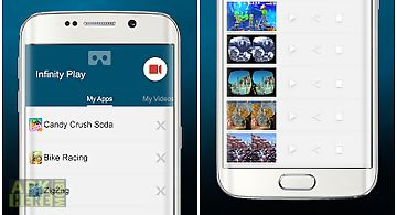 Infinity play screen recorder