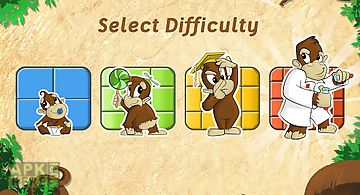 Live puzzle! forest animals