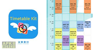 Timetable kit - class schedule