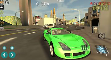Car gt driver simulator 3d
