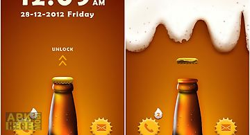 Cool beer go locker theme