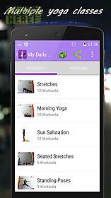 my daily yoga