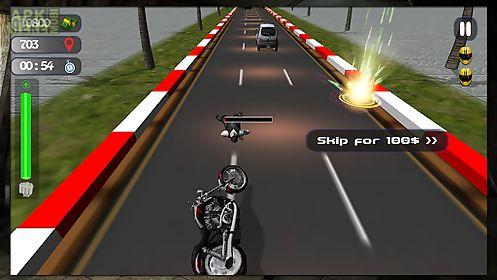 traffic attack rider