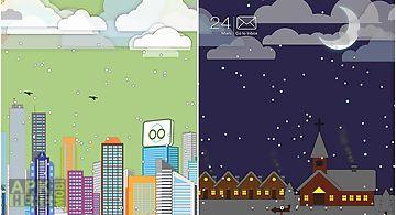 Toon landscape Live Wallpaper