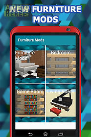 Furniture mod for minecraft pe for Android free download at