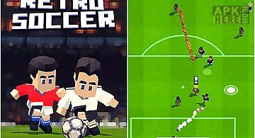 Retro soccer: arcade football ga..