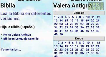 Biblia en español multi opción