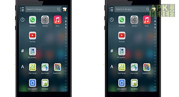 Launcher theme for iphone 6