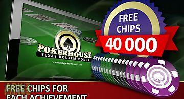 Poker house: texas holdem