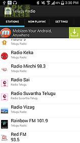 telugu radio stations