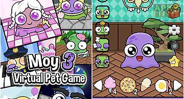 Moy 3 🐙 virtual pet game