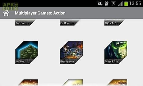 multiplayer games: action