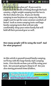 a pocket guide to camping
