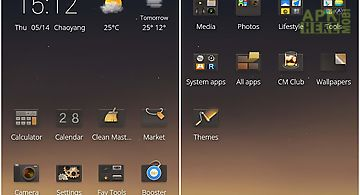 Cm launcher twilight theme