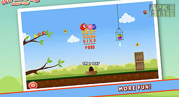 Cute angry bird : easter eggs