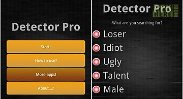 Detector prank